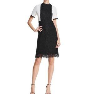 NWT Modern Glam Very Black Marshmallow Dress
